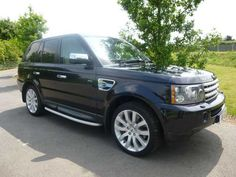2007 Range Rover Sport 3.6 TDV8 Sport HSE. Blue with cream leather interior. HI ICE pack.