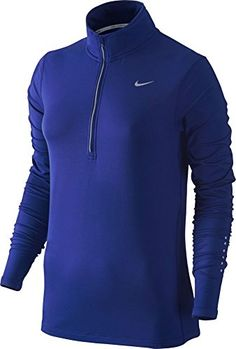 8261c402a60f Nike Womens Element Half Zip - X-Small - Deep Royal Blue -- Check