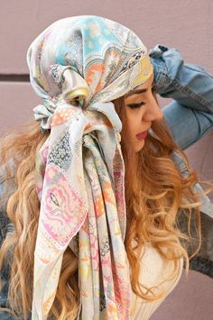 Piratentuch, Pirate DIY, Scarf Scarves StylesYouLove Tücher binden Guide
