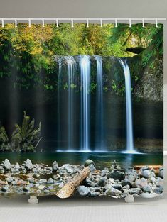 Reiki Healing Music with 2 Minute Timer - Reiki Music with Mountain Stream, Ocean Waves & Bells Forest Waterfall, Waterfall Photo, Waterfall Hikes, Reiki Music, Photo Café, Les Cascades, Nature Sounds, Jolie Photo, Relaxing Music