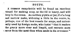 Soup pot advice  Godey's Magazine V. 62-63  pg 265