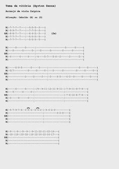 23 Melhores Imagens De Musica Viola Caipira Tablatura E