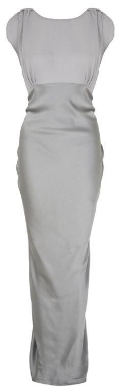 High Street Silver wedding dress