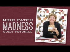 (278) Make a 9 Patch Madness Quilt with Jenny! - YouTube