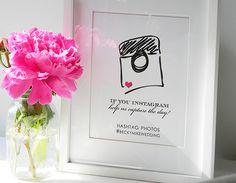 Instagram Wedding Sign #wisherwedding @Shannon Bellanca Bellanca Bellanca Bellanca Kuntz  what do you think?