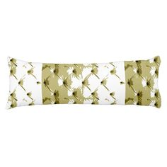 Star Bright Antique Gold Body Pillow by Janz