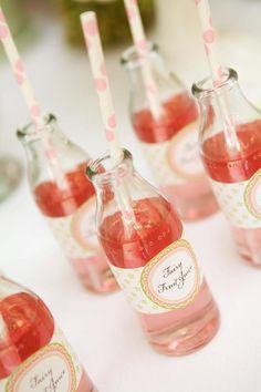 Kid's fairy party - 'fairy drinks' (4)