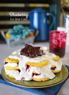 Blueberry Ice Box Ca
