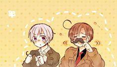 Hetalia - Iceland and Romano❤ Manga Boy, Manga Anime, Spamano, Free Anime, Axis Powers, Toot, Me Me Me Anime, Neko, Iceland