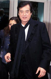 Jimmy Page at the New York premiere of the LZ DVD, NYC, May 27, 2003