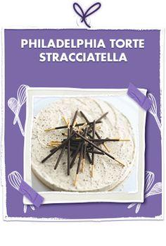 Philadelphia torte stracciatella