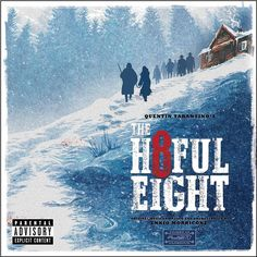 Ennio Morricone - Quentin Tarantino's The Hateful Eight: Original Motion Picture Soundtrack on 180g 2LP