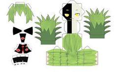 naruto papercraft template - Google Search
