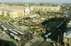 Miskolc Búza tér (Macropolis előtt) Budapest Hungary, Paris Skyline, Culture, History, The Originals, Retro, Places, Travel, Hungary