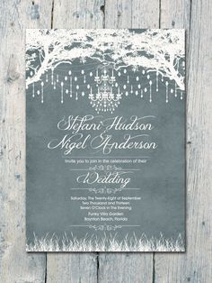 Digital - Printable Files - Royal Winter Garden Wedding Invitation and Reply Card Set - Wedding Stationery Garden Wedding Invitations, Wedding Invitation Inspiration, Printable Wedding Invitations, Diy Invitations, Elegant Wedding Invitations, Wedding Stationary, Wedding Themes, Wedding Colors, Diy Wedding
