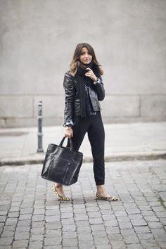 ¿Necesitas un party dress detox?, échale un ojo a estos outfits y olvídate del brilli brilli (via Bloglovin.com )