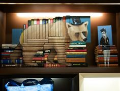 Book Sculptures by Mike Stilkey