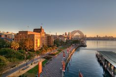 Sydney Harbour and Museum of Contemporary Art.