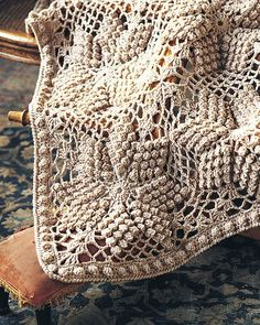 Crochet Attic: This is such a beautiful pattern for blankets!