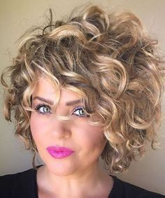 +10 Best Short Curly Hairstyles 2018 (scheduled via www.tail