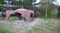 Construction, Park, Workshop, Building, Atelier, Work Shop Garage, Parks