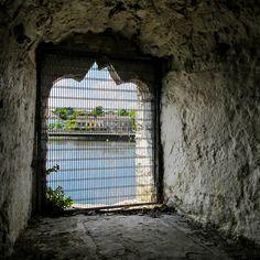 Window in the King John's Castle wall. Ireland.  #ireland #discoverireland #countylimerick #kingJohn #castle #irish