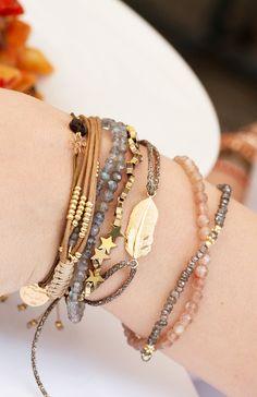 NEWONE-SHOP.COM I #armcandy #braceletstack #armbänder #schmuck