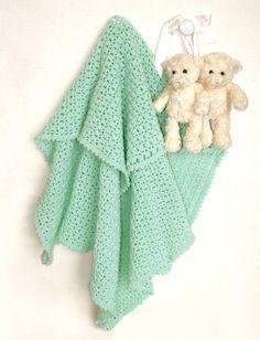 Морской Мятный Детское Одеяло