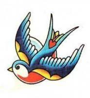 Great Tattoos, Body Art Tattoos, Tattoo Drawings, Sleeve Tattoos, Tatoos, Traditional Swallow Tattoo, Swallow Bird Tattoos, Bluebird Tattoo, Arte Alien