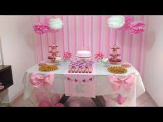 Aula 47 - Como fazer uma saia de mesa de papel crepom para festas (Artesanato) - YouTube