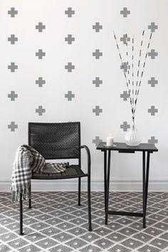 Swiss Pattern Wall art South Africa Stickart