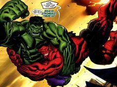 Hulk y Hulk Rojo protagonizarán un enfrentamiento en 'Capitán América: Civil War'