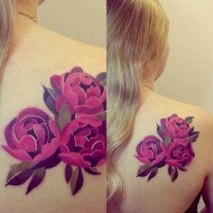 Desafio Criativo: 25 Tatuagens Estilo Aquarela por Sasha Unisex