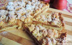 Берлинский яблочный пирог (Berliner Apfelkuchen)   Кулинарные рецепты от «Едим дома!»