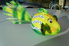 ..another cool coconut fish today!