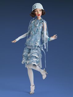 SNEAK PEEK!!!!!!!!  LE Deja Vu - Emma Jean Singing the Blues - available at the West Coast Event #TonnerDolls #FashionDolls