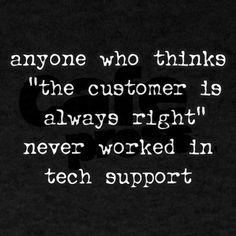 Tech support tee.