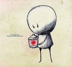 Kai Fine Art is an art website, shows painting and illustration works all over the world. Broken Heart Drawings, Depression Art, Sad Drawings, Sad Pictures, Stick Figures, Heart Art, Painted Rocks, Illustration Art, Heart Broken