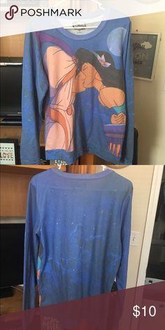 Hot Topic Disney Aladdin Shirt Never worn! Hot Topic Tops