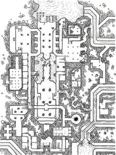 Non-Keyed Thieves' Guild Map