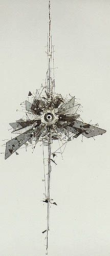 Lee Bontecou, her work is quite interesting to me