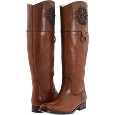 Melissa Frye boots. I'm a cowgirl, these look perfect to me!