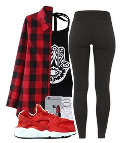 """""""Untitled #206"""" by mindset-on-mindless ❤ liked on Polyvore featuring beauty, Boohoo, Michael Kors, NARS Cosmetics and NIKE"""