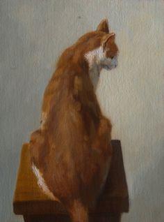 Oil painting by Dutch artist Ton van Steenbergen (b. 1962)