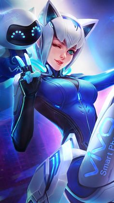Image in anime collection by mariacé on We Heart It Akali League Of Legends, Lol League Of Legends, Mobile Legend Wallpaper, Hero Wallpaper, Fantasy Characters, Anime Characters, Moba Legends, Character Art, Character Design