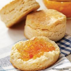 Gooseberry Patch Recipes: Mile-High Buttermilk Biscuits. The secret? Use a sharp biscuit cutter and don't twist it when cutting out your biscuits...you'll be amazed how high they rise!