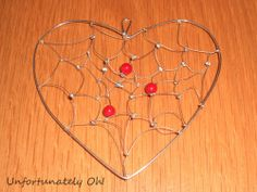 Tutorial: 'Heartcatcher' - dream-catcher hanging heart