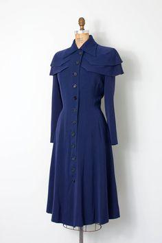 o n s a l e...vintage 1940s princess coat 40s by SwaneeGRACE
