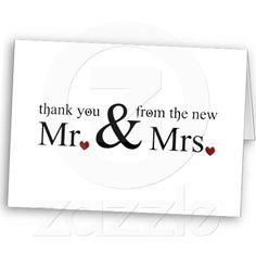 Wedding Thank You Cards D9