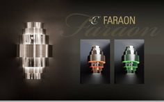 FARAON - The oversized lighting project has come from the UAE  after an extremely interesting visit to a well-known studio of interior and lighting design in Dubai. The level of expertise and creativity made working together an absolute joy and by this excellent synergy FARAON was born. With all the charm of a historic divinity, as all the kings of Egypt were considered, our custom product FARAON is an oversized decorative wall lamp that shows all its glory in its impressive size.